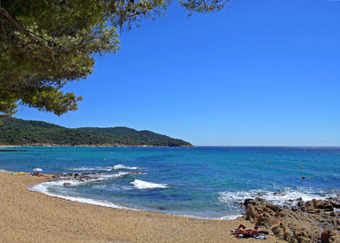 Gigaro Beach One off the most beautif beaches of the French Riviera